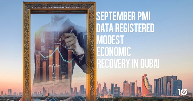 September PMI data registered modest economic recovery in Dubai
