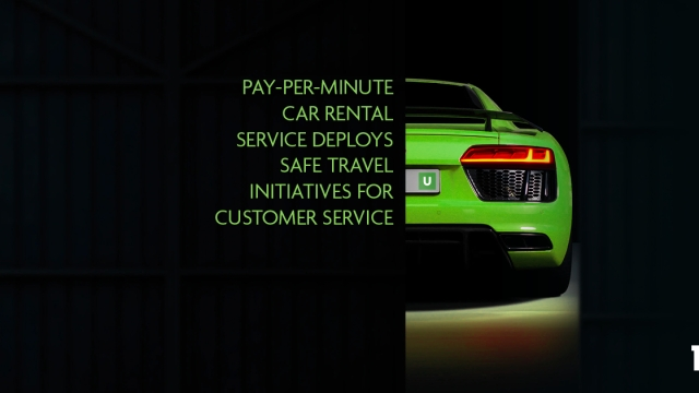 Pay-per-minute car rental service deploys safe travel initiatives for customer service