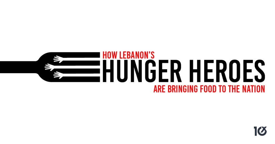 How Lebanon's 'hunger heroes' are bringing food to the nation