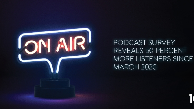 Podcast survey reveals 55 percent more listeners since March 2020
