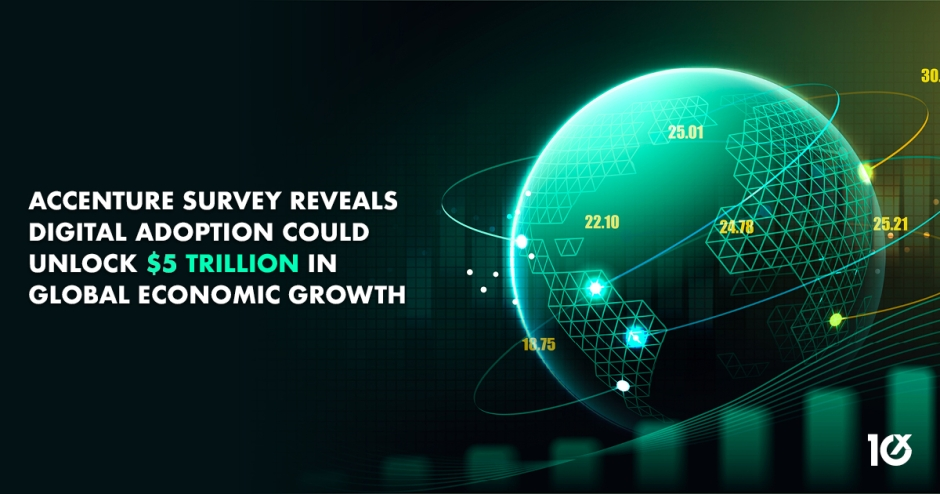 Accenture survey reveals digital adoption could unlock $5 trillion in global economic growth