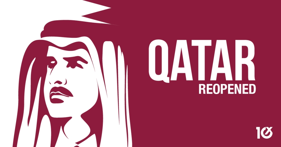 Qatar reopened