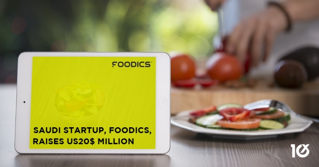 Saudi startup, FOODICS, raises US$20 million