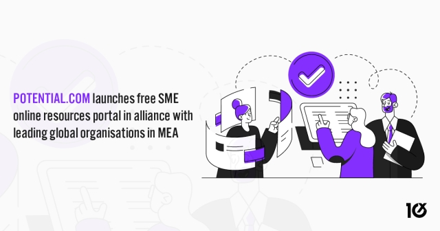 Potential.com launches free SME online resources portal in alliance with leading global organisations in MEA