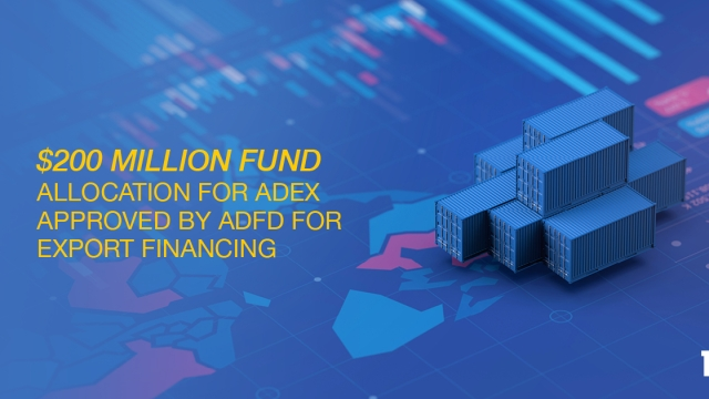 $200 million fund allocation for ADEX approved by ADFD for export financing