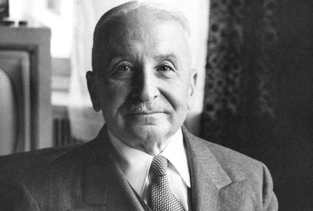 Ludwig Von Mises,acknowledged leader of the Austrian School of Economics.