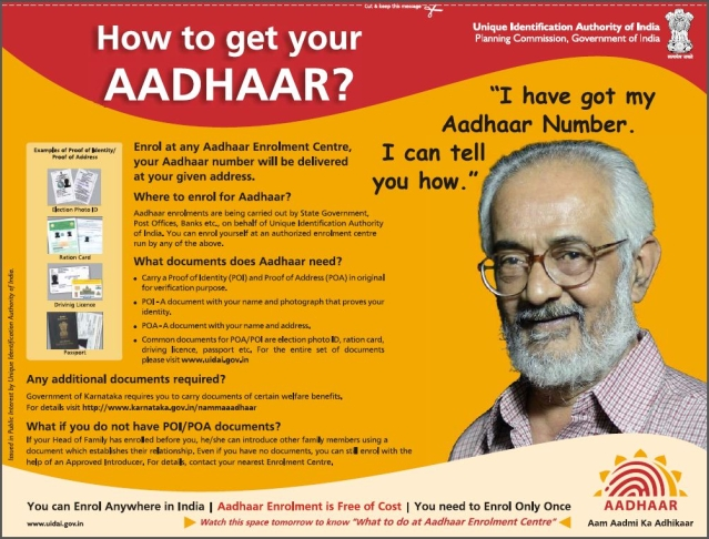 There Is A Privacy Issue With The Aadhaar Card