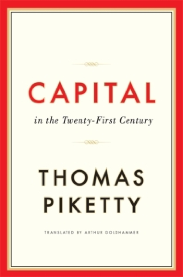 Thomas Piketty's 'Capital', a regular feature of book-lists of 2014. How many have actually read it?