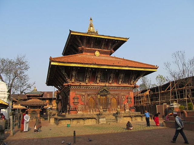 Nepal's oldest temple site in the north-eastern Kathmandu Valley