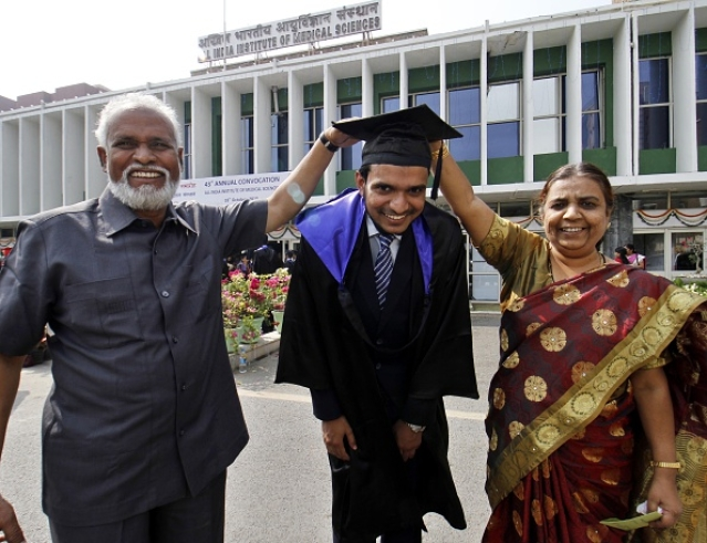 AIIMS Convocation/Getty Images