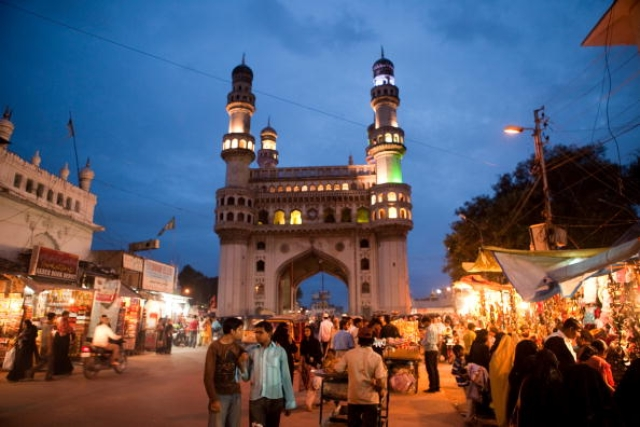 Charminar of Hyderabad/Getty Images
