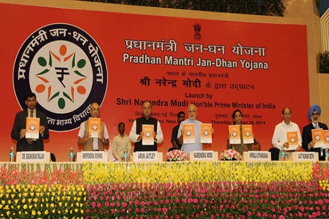 Jan Dhan Yojana A Roaring Success, 99 Per Cent Of Households Have At Least One Bank Account: Survey