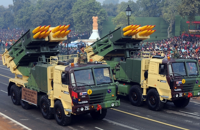 Indian Army To Induct More Pinaka Rocket Launchers To Boost Firepower