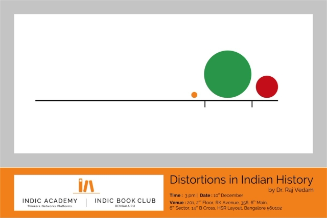 Indic Academy Event In Bengaluru: Dr Raj Vedam To Speak On 'Distortions In Indian History'