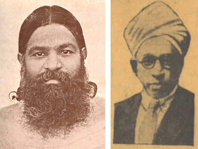 V V S Iyer (1881-1925) and Dr T S S Rajan (1880-1953): Both colleagues of Savarkar at 'India House': both joined the Gandhian movement. But that never diminished Savarkar's love for them.