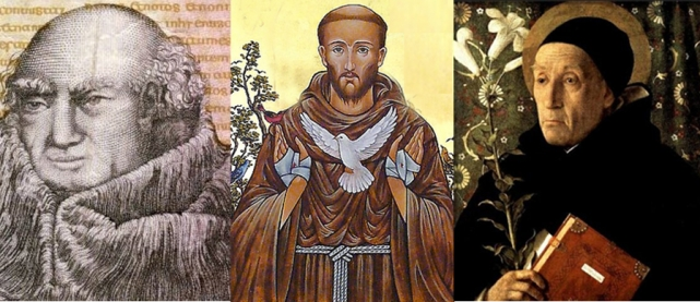 John Scotus Eriugena (815-877), St Francis of Assisi (1181-1226) and Meister Eckhart (1260-1328): All the three provide the substratum on which eco-theology of the twentieth-century Church evolves.