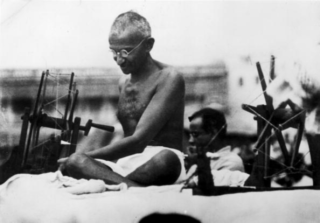 Gandhi Lives In The Speech And Actions Of Only One Indic School Of Thought - Hindutva