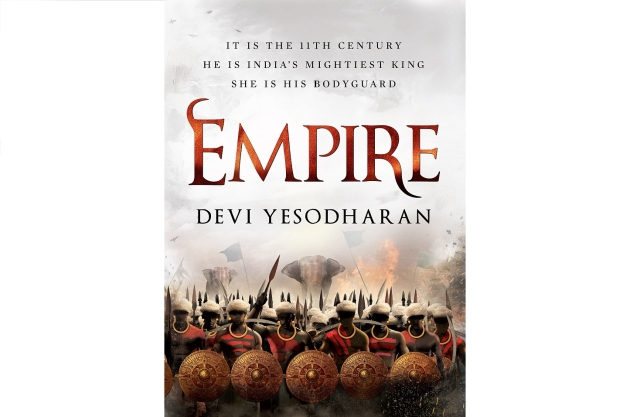 Devi Yesodharan's first novel, <i>Empire</i>.