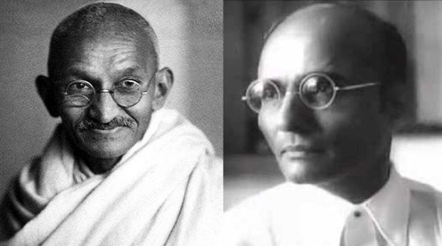 Gandhi and Savarkar: Bitter rivals in later years
