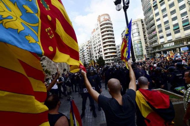 Barcelona: Around 80,000 People March For Protest Against Catalan Separatism And Call For Unity Of Spain