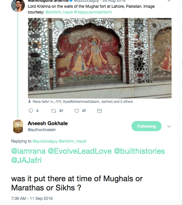 'True Indology' Responds