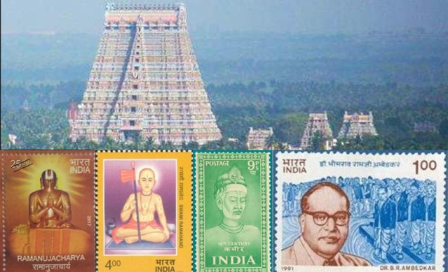 Anchored in the spiritual soil of Sri Rangam Sri Ramanuja spearheaded a socio-spiritual revolution to which Dr Ambedkar was connected.