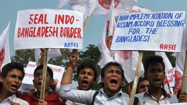 Illegal Bangladeshi Migrants Are Posing A Grave Threat To Assam's Social Milieu