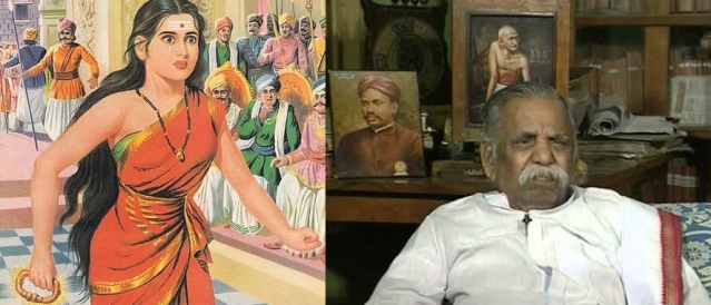 Tamil scholar and rationalist Ma Po Si was appalled by the shallow, unintelligent stand taken by EVR on Silappadikaram.