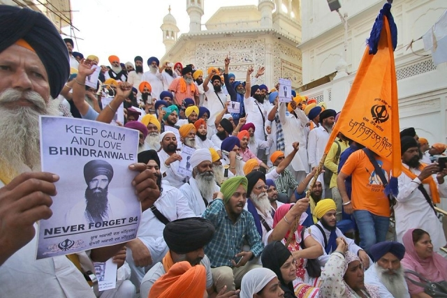 Sikh Youths Being Trained By Pakistan To Carry Out Attacks In India