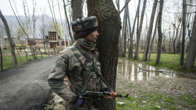Two Jaish Terrorists Neutralised In Ongoing Operation In Kashmir's Budgam; Four Soldiers Injured