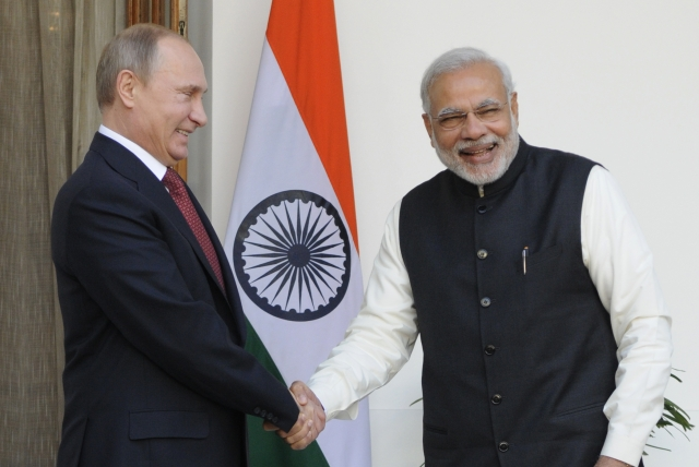 PM Modi Conferred Russia's Highest Award  For Exceptional Work In Promoting Indo-Russian Ties