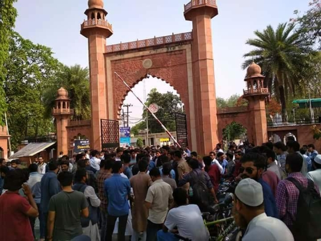 UP Police Books 600 AMU Students For Blocking Roads On Republic Day To Demand Release Of Former Student