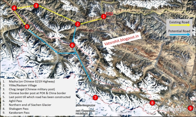 Is China's Road In Kashmir's Shaksgam Valley A Threat To India?