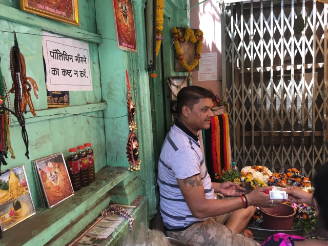 Kal Bhairav temple management recently banned the use of polythene.