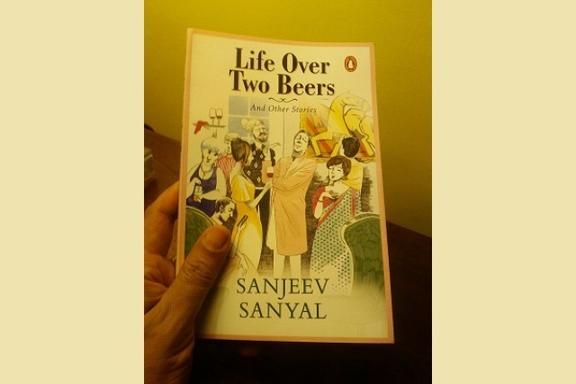 <i>Life Over Two Beers And Other Stories</i> by Sanjeev Sanyal (Sanjeev Sanyal/Twitter)