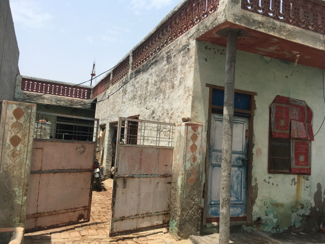 House where the three Jat brothers lived.