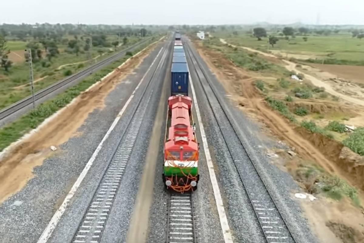 Indian Railways Dedicated Freight Corridors: Leading Firms Bid To Build And Operate Cargo Terminals - Swarajya