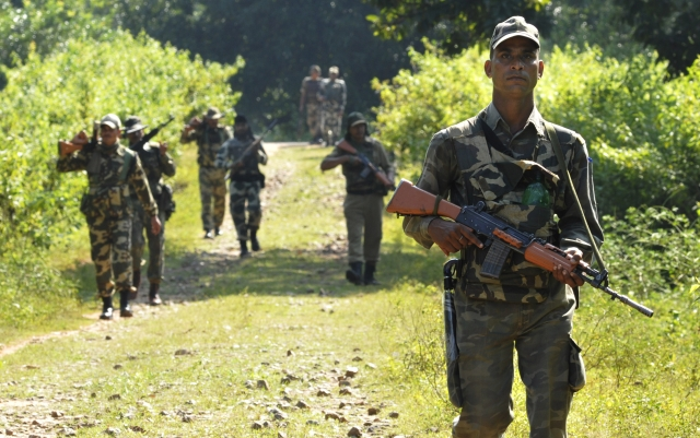 In One Of The Biggest Anti-Naxal Operations in Chhattisgarh, Security Forces Gun Down At Least 15 Left-Wing Terrorists