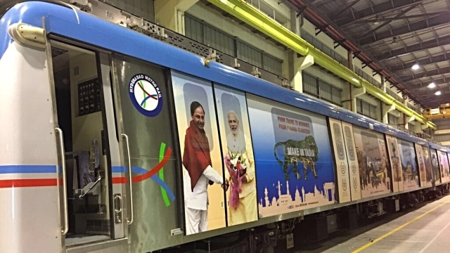 With 46 Km Of Operational Lines, Hyderabad Now Has India's Second Largest Metro Network