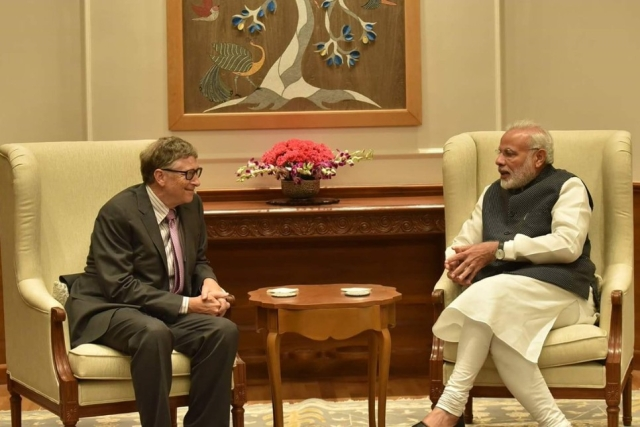 Bill Gates Commends India On 'Swachhta First': Says Nation Is Shining A Light On Sanitation