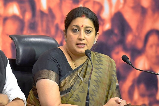 Smriti Irani Launches 'Aapki Didi, Aapke Dwar' Initiative To Reach Out To People Of Amethi
