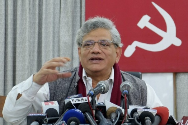 SC Allows Sitaram Yechury To Visit Kashmir To Meet Party Colleague, Warns Against Using Visit For Political Purpose