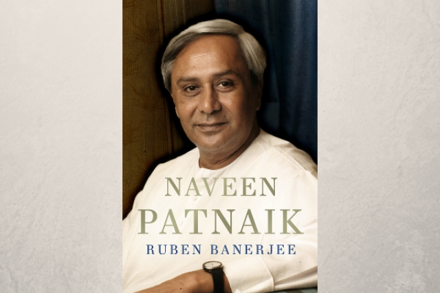 Cover of the book <i>Naveen Patnaik</i> by Ruben Banerjee