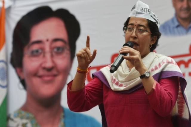 AAP Leader Atishi Marlena Urges People To Vote For Goons To Achieve The Goal Of Defeating BJP