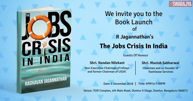 Attention Bengaluru! R Jagannathan's Book To Be Launched In Your City On 5 December