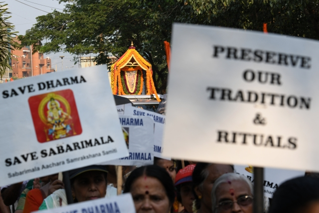 As The Gates To Sabarimala Temple Open Today, Here's The Issue As It Stands