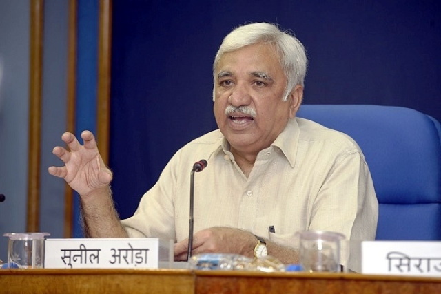 Next Target Of EVM Conspiracies? Sunil Arora Appointed The New Chief Election Commissioner By President Kovind