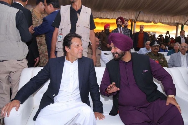 Kartarpur Corridor Inauguration: Sidhu Hails Imran Khan For Fulfilling 'Dream Of Four Generations Of Sikhs'
