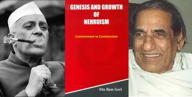 The cover of Genesis and Growth of Nehruism