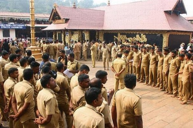 Kerala Police To Deploy More Than 10,000 Personnel At Sabarimala To Ensure Law And Order During Pilgrimage Season